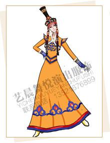 蒙古服装定制,蒙古舞蹈服装设计,蒙古演出服装厂家