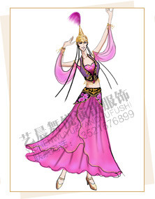 新疆舞蹈服装设计,新疆演出服装厂家,新疆服装定做
