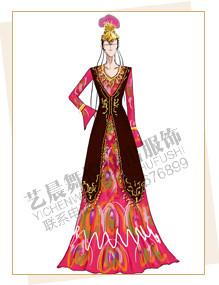 新疆演出服装定做,新疆舞蹈服装设计,新疆服装定制厂家