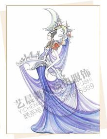 苗族舞蹈服装定制,,苗族演出服装设计,苗族表演服装厂家