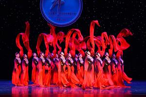 第七届华北五省区市舞蹈大赛业余中老年组创作、表演一等奖《袖舞翩跹》
