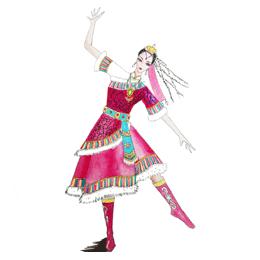定制藏族舞蹈服装,我们信赖艺晨舞悦