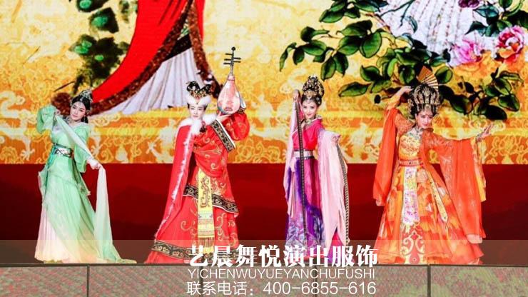 艺晨舞悦为台州儿童古装剧定制儿童古代服装