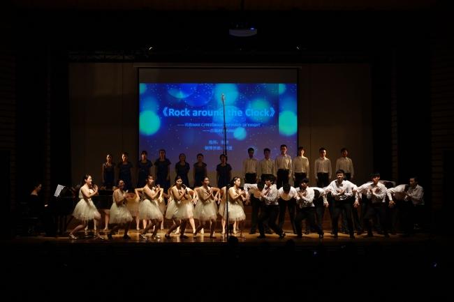 学生合唱团专场音乐会唱响同济校园,学生合唱服装闪耀全场