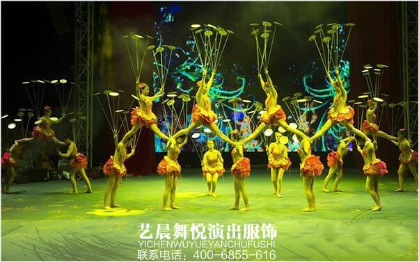定制大型舞台演出服装赢得好评反馈
