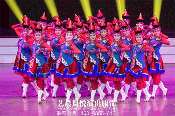 2017海峡大舞台春晚狂欢夜尽显舞蹈演出服装