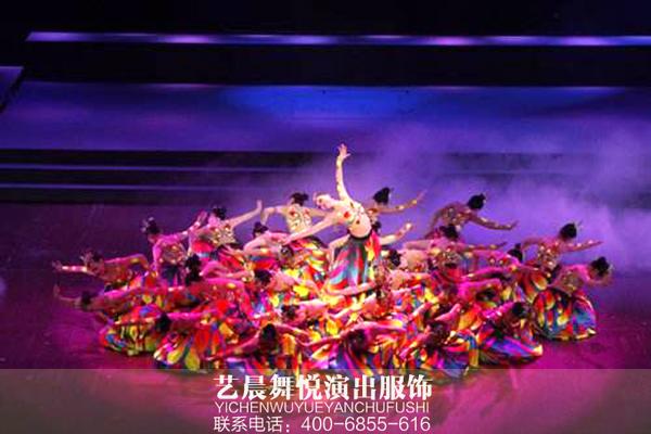 河北省歌舞剧院舞剧《天边的鼓声》幕后