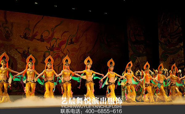 2017大型舞台演出服装舞剧隆重上演