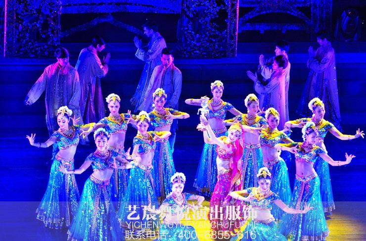 2017专门定制舞蹈演出服装