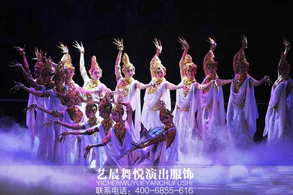 民族舞蹈服装渗入中央民族歌舞团