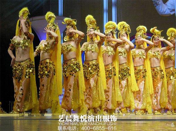校园歌舞晚会彰显舞蹈演出服装