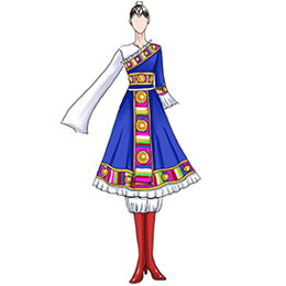 定制藏族舞蹈服装,我们信赖