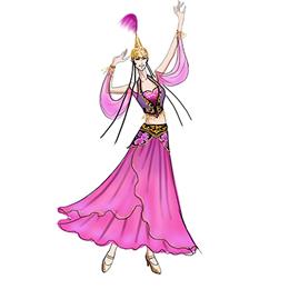为我们定制新疆舞蹈服装助力中秋晚会