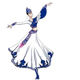 传承民族经典首选艺晨舞悦定制民族舞蹈服装