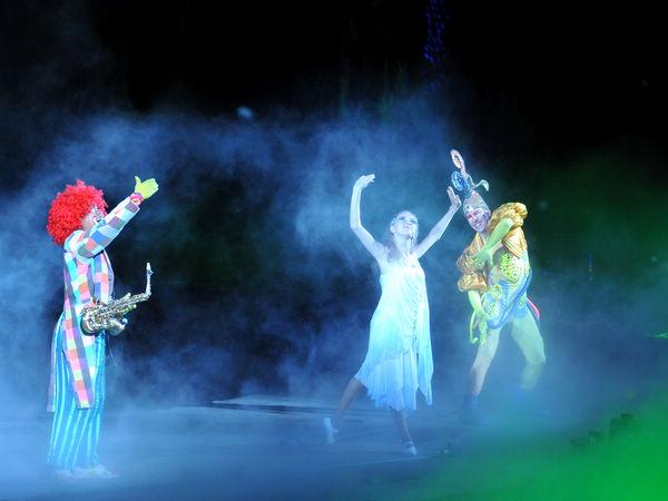 带给儿童遐想空间的小丑演出服装设计计划!
