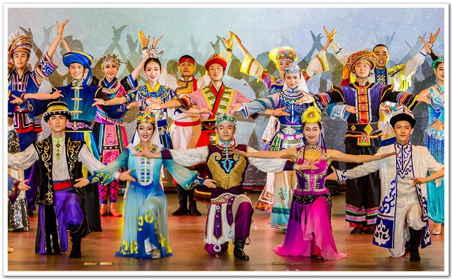 校园56个民族舞蹈演出服装设计案例展示!图片