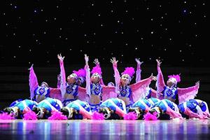 市中心小学少儿舞蹈培训班开课了