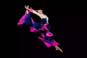 桃李杯古典舞蹈——《爱莲说》舞蹈服装设计定制
