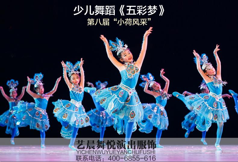 第八届小荷风采《五彩梦》演出服表演服2017年春天幼儿园舞蹈服
