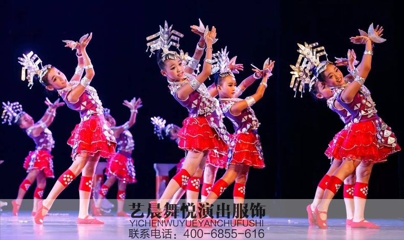 儿童舞台演出服装设计