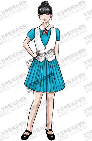 校园学生合唱团演出表演服装校园合唱比赛服装