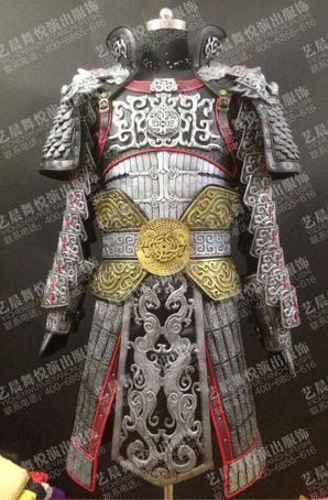 古装将军铠甲古代道具盔甲定制将军铠甲厂家