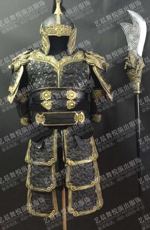 将军cosplay盔甲古装舞台铠甲影视古装盔甲