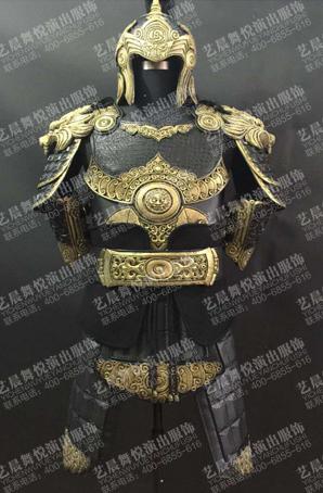 古装将军铠甲将军盔甲制作定制战士盔甲厂家