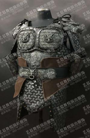 古代兵甲定制舞台影视盔甲古装盔甲服装厂家
