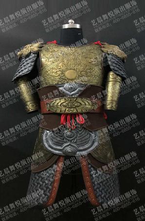 影视道具盔甲古装铠甲服装将军舞台盔甲定制