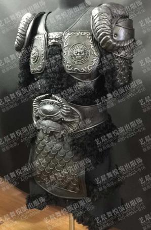 古代将军服装设计将军戏剧盔甲古装将军铠甲厂家