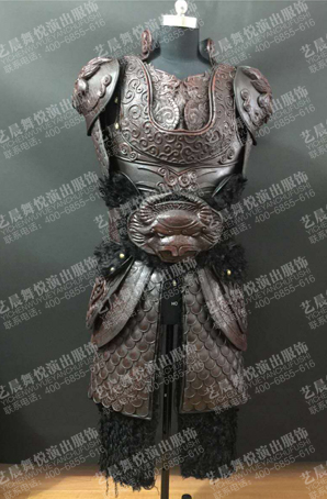 古装铠甲舞台盔甲服装将军铠甲厂家