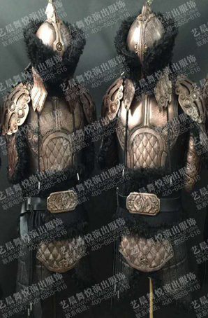 影视古装盔甲cosplay盔甲定制盔甲服装定做