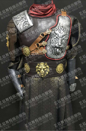 将军半甲服装半甲盔甲定制古装将军cos半甲