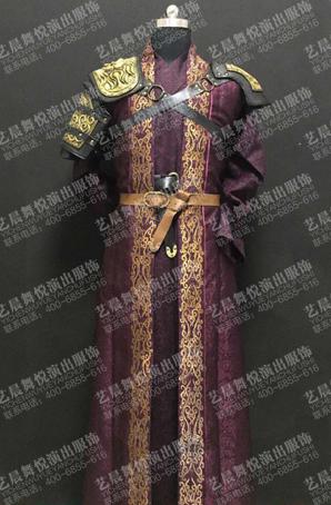 古代将军半甲将军cos半甲服装古装半甲盔甲定做