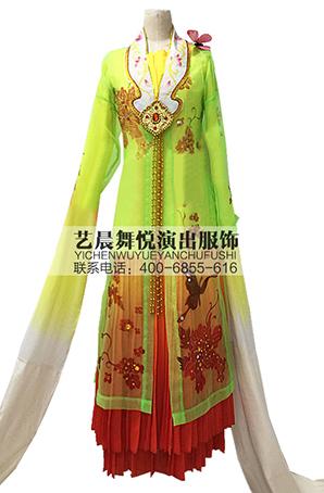大型歌舞剧《百花争艳》歌舞剧演出服装定做厂家