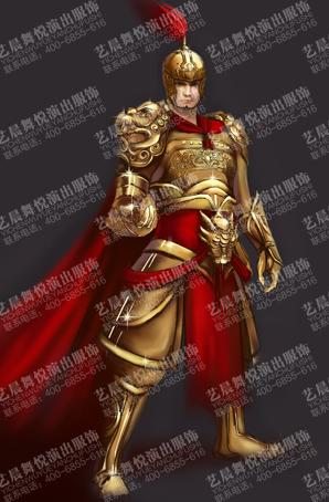 将军影视盔甲可开模可定制设计古装盔甲定做供应商