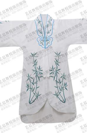 新款戏曲观音帔白色大士衣京剧观音帔戏剧观音得道演出服戏曲服装