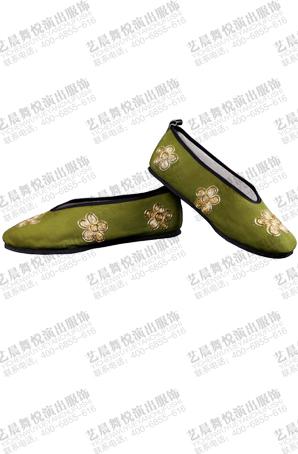 戏曲鞋子武生打鞋京剧舞台鞋子薄底小生鞋靴戏曲演出用品定制