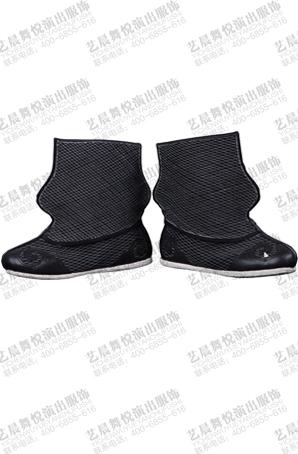 戏曲摔跤靴戏曲靴鞋手工纳底高腰底靴定制舞台演出鞋