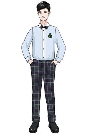 新款儿童合唱演出服装,校园合唱比赛服装设计图稿