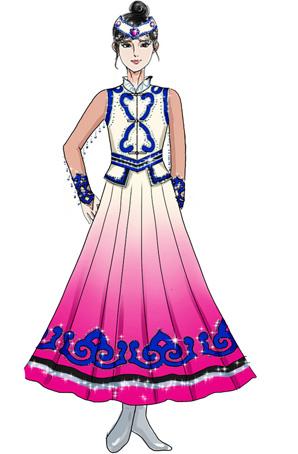 少数民族服装设计-艺晨舞悦--v服装服装定制婚房主卧设计图图片