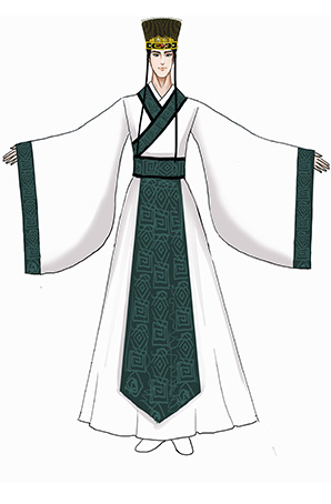 古代服装定制古代汉服定制古装汉服设计古装演出服装厂家