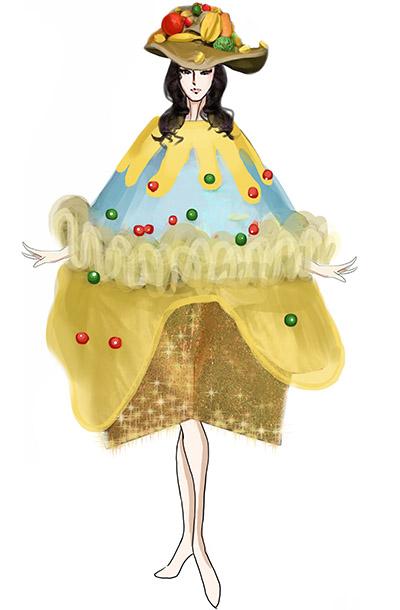 威尼斯城狂欢装扮服装设计狂欢节巡游演出服装定制!