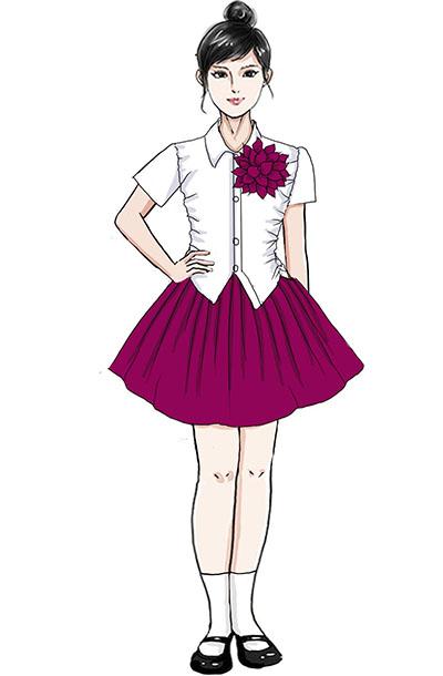 校园舞台合唱比赛服装儿童合唱服设计