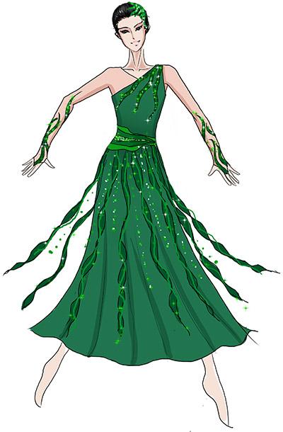 大型晚会舞台表演服装设计与定制,现代舞演出服装定制!