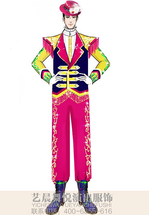 舞台乐队演出服装定制景区乐队服装设计定制!