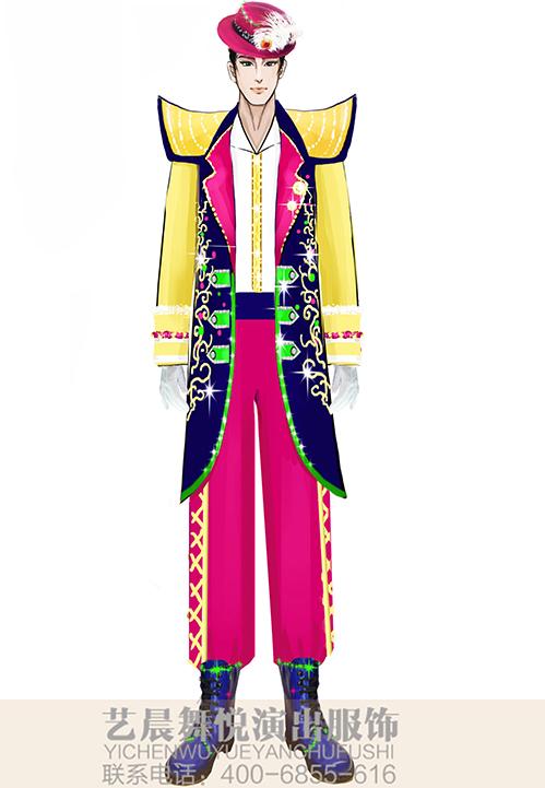 景区乐队舞台演出服装定制乐队表演服装设计!