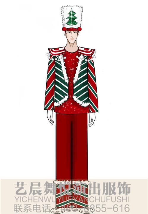 水乐园男式演出服(激情氛围)定制景区演出服装定制!