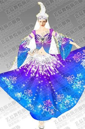 新疆舞服装设计新疆舞服装定制新疆舞服装定制厂家